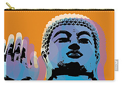 Buddha Pop Art - Warhol Style Carry-all Pouch by Jean luc Comperat