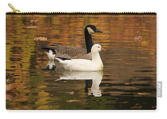 Carry-all Pouch featuring the photograph Buddies by Amy Gallagher