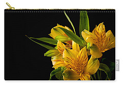 Carry-all Pouch featuring the photograph Budding Flowers by Sennie Pierson
