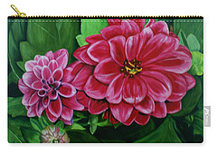 Buds And Blossoms Carry-all Pouch