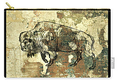 Buffalo 7 Carry-all Pouch by Larry Campbell
