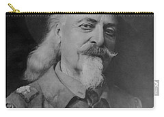 Carry-all Pouch featuring the photograph Buffalo Bill Cody by Charles Beeler