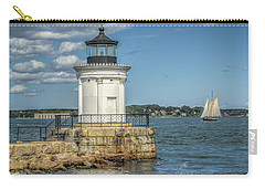 Carry-all Pouch featuring the photograph Bug Light by Jane Luxton
