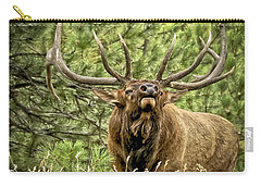 Bugling Bull Elk II Carry-all Pouch