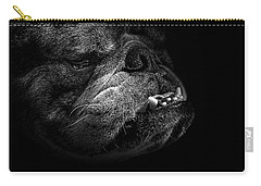 Bull Dog Carry-all Pouch by Bob Orsillo