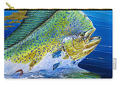 Bull Reflection Off0032 Carry-all Pouch by Carey Chen