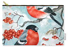 Bullfinch Couple Carry-all Pouch