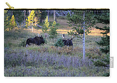 Bulls In The Meadow Carry-all Pouch