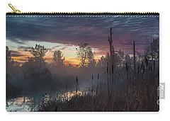 Bulrush Sunrise Full Scene Carry-all Pouch