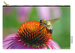 Bumblebee On A Coneflower Carry-all Pouch