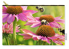 Bumbling Bees Carry-all Pouch by Bill Pevlor