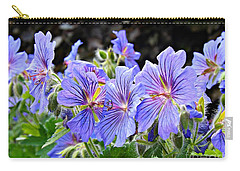 Carry-all Pouch featuring the photograph Bunches by Clare Bevan
