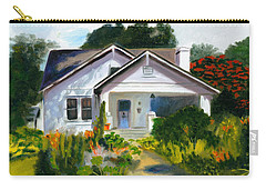 Bungalow In Sunlight Carry-all Pouch