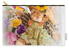 Bunny Expressions Carry-all Pouch