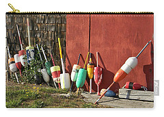 Buoys Carry-all Pouch by Jean Goodwin Brooks