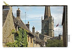 Burford Village Street Carry-all Pouch by Tony Murtagh