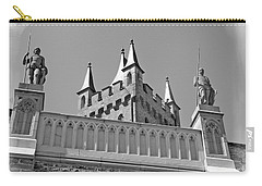 Carry-all Pouch featuring the photograph Burg Hohenzollern by Carsten Reisinger