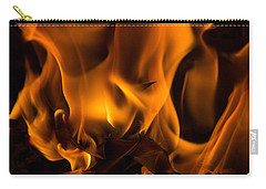 Burning Holly Carry-all Pouch