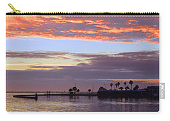 Burning Sky Carry-all Pouch by Leticia Latocki