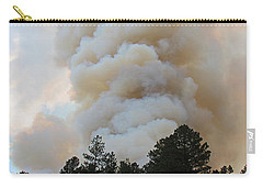 Burnout Near Song Dog Road Carry-all Pouch by Bill Gabbert