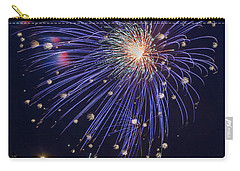 Burst Of Blue Carry-all Pouch by Bill Pevlor
