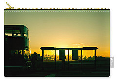 Bus Stop At Sunset Carry-all Pouch
