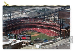 Busch Memorial Stadium Carry-all Pouch by Thomas Woolworth