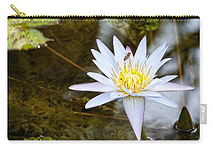 Carry-all Pouch featuring the photograph Busy Bee by Dave Files