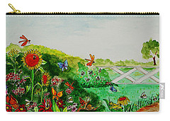 Busy Bee Garden Carry-all Pouch