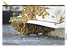 Busy Bees Carry-all Pouch by Laura Forde