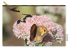 Carry-all Pouch featuring the photograph Busy Days by Rogerio Mariani