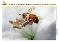 Carry-all Pouch featuring the photograph Busy by Joyce Dickens