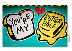 Butter Half Carry-all Pouch by Dave Files