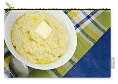 Cheese Grits With A Pat Of Butter Carry-all Pouch