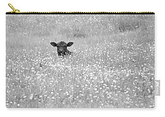 Buttercup In Black-and-white Carry-all Pouch