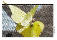 Sulfur Butterflies Mating Carry-all Pouch by Belinda Lee