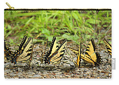 Carry-all Pouch featuring the photograph Butterflies by Rowana Ray