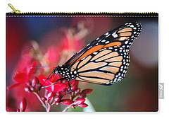 Carry-all Pouch featuring the photograph Butterfly 2 by Leticia Latocki