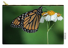 Carry-all Pouch featuring the photograph Butterfly 3 by Leticia Latocki