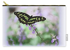 Carry-all Pouch featuring the photograph Butterfly 8 by Leticia Latocki