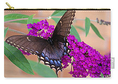 Butterfly And Friend Carry-all Pouch