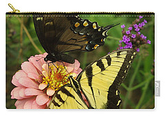 Carry-all Pouch featuring the photograph Swallowtaill Bliss by James C Thomas