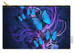 Butterfly Burst Carry-all Pouch