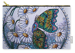 Butterfly Circle Carry-all Pouch