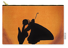 Carry-all Pouch featuring the drawing Butterfly by D Hackett