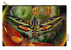 Butterfly Effect Blue Planet Carry-all Pouch
