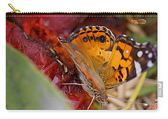 Carry-all Pouch featuring the photograph Butterfly by Erika Weber