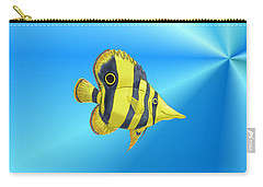 Butterfly Fish Carry-all Pouch by Chris Thomas