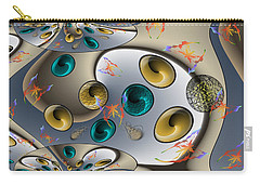 Butterfly Fractal Palette Carry-all Pouch