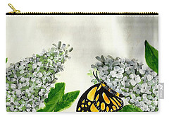 Butterfly Carry-all Pouch by Francine Heykoop